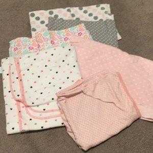 Assorted Baby Receiving Blankets